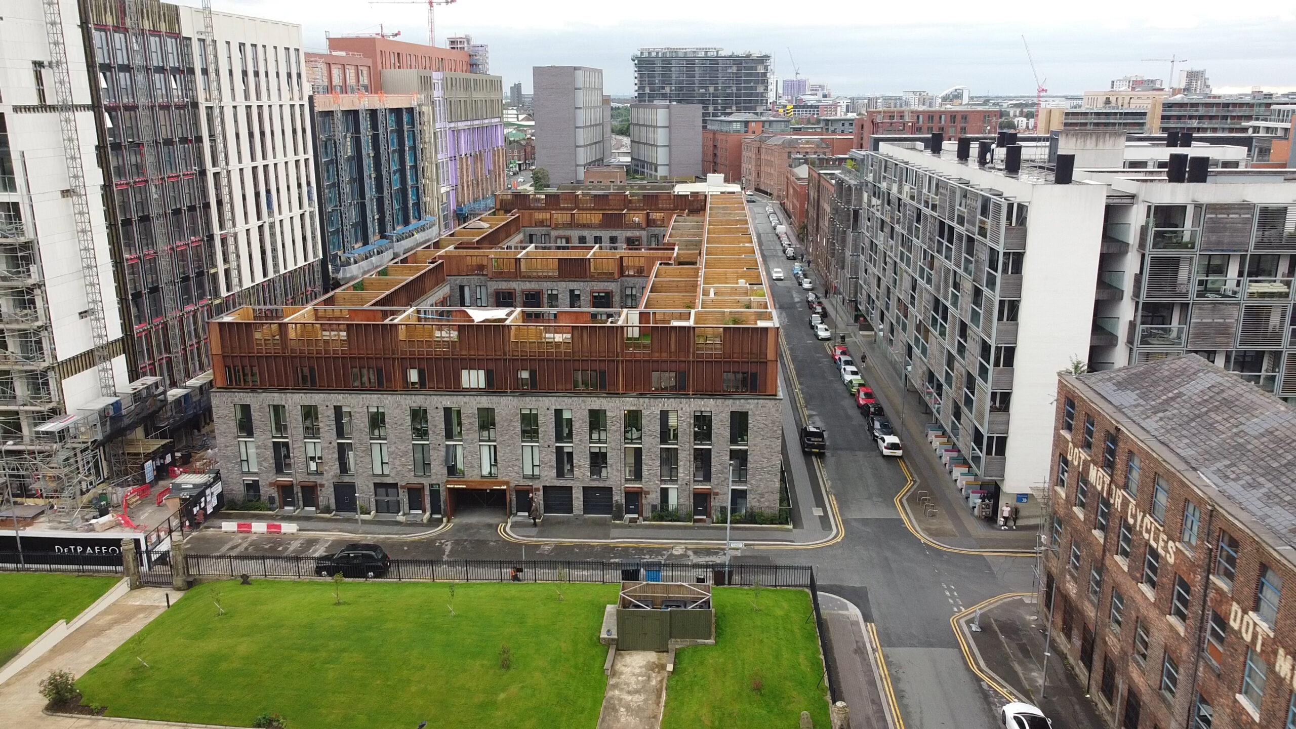 [曼城市中心品牌Townhouse] The Roof Gardens, Castlefield, Manchester, M15